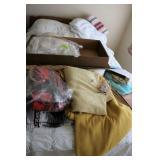 Full Bed, Blankets & Misc.