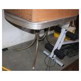 Vintage Chrome Leg Table