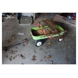 Vintage AMF Junior Wagon & Sled
