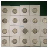 19- Silver Washington Quarters