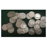 31- 1952-S Silver Roosevelt Dimes