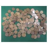 207- Wheat Pennies, Mixed Dates