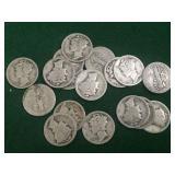 17- 1923 Mercury Dimes