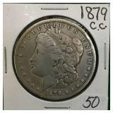 1879-CC Silver Morgan Dollar