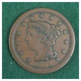 1854 Large Cent Piece