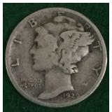 1929-S Mercury Silver Dime