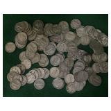 124- Silver Mercury Dimes