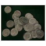 30- Silver 1964 Dimes