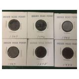 6- Indian Head Cents