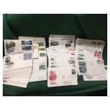 Lot of First Day Cover Envelopes