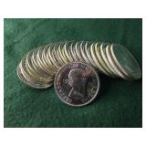 20- 80% Silver Canadian Dollars