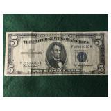 1953-A $5 Silver Certificate