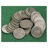 38- 1943 Steel Pennies