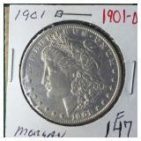 1901-O Silver Morgan Dollar