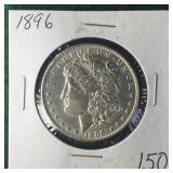 1896 Silver Morgan Dollar
