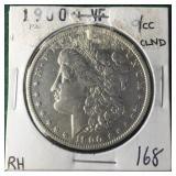 1900 O/CC Silver Morgan Dollar