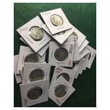 22- Silver Mercury Dimes