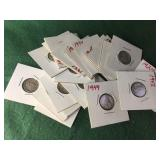 20- Silver Mercury Dimes