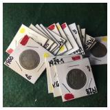 19- Buffalo Nickels