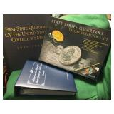 3- Collector Sets of U.S. State Quarters