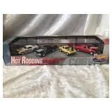 Hot Wheels Hot Rodding Boxed Car Set