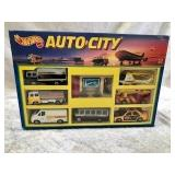 Hot Wheels Auto City Boxed Set