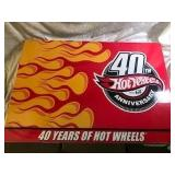 Boxed Hot Wheels 40-Car Set