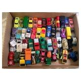 Flat of 50 Assorted Hot Wheels Cars