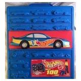 Hot Wheels 100-Car Carrying Case & Cars