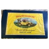 Matchbox 16-Car  Display Case & Cars