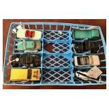 Eight Macthbox Cars in Car Shelf