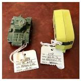 Two Lesney Matchbox Vehicles