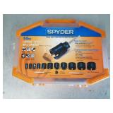 Spyder Carbide Tipped Hole Saw Kit