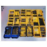 Assorted Drill Bits and Screw Driver Set No. 1