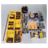Assorted Drill Bits and Screw Driver Set No. 2