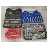 Assorted Socket Sets & Wrenches