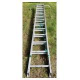 Werner Aluminum Extension Ladder No. 5