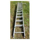 Werner Aluminum Extension Ladder No. 6