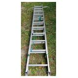 Werner Aluminum Extension Ladder No. 7
