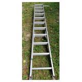 Werner Aluminum Extension Ladder No. 8