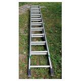 Werner Aluminum Extension Ladder No. 9