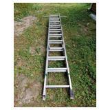 Werner Aluminum Extension Ladder No. 10