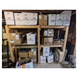 Assorted Gutter Material and Supplies
