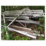 Assorted Pipe and Gutters