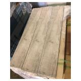 Light Gray Wood Look 6x36 Porcelain Tile