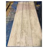Wood Look White 6x48 Porcelain Tile