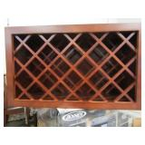 "Pacifica Wine Rack 30""x18""x12"" & Recessed Lighting"
