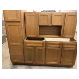 Lancaster Oak 4pc Apartment Set