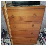 Four Drawer Wooden Dresser