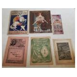 Antique Theater Programs